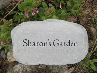 Personalized garden stones custom engraved garden stone by personalized garden stones previous next workwithnaturefo