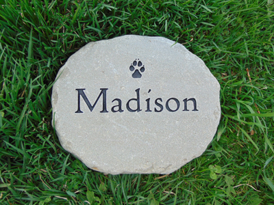 Small Personalized Garden Stone
