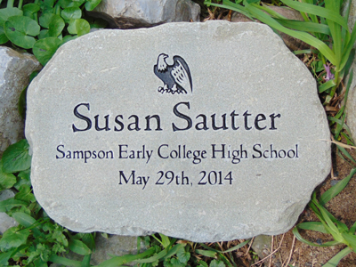 Custom Engraved Garden Stone