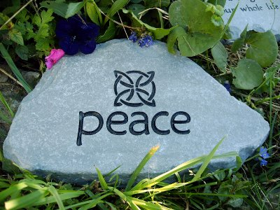 Custom engraved garden stone by adirondack stone works free shipping custom engraved stones workwithnaturefo